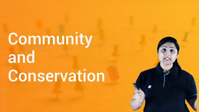 Community and Conservation